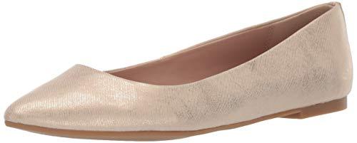 BCBGeneration Women's Millie Flat Shoe, Champagne, 10 M US