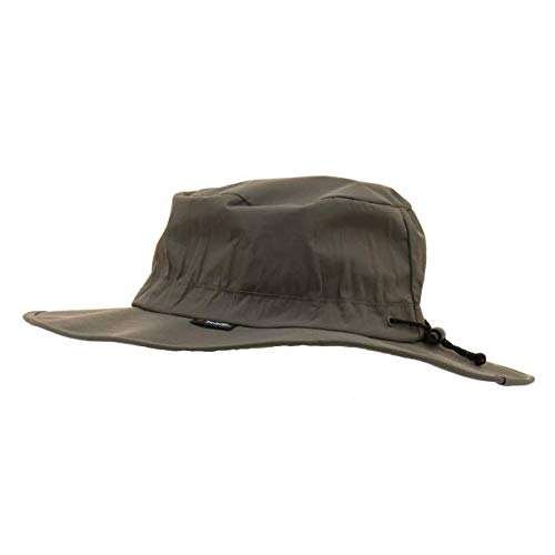 Frogg Toggs Waterproof Breathable Boonie Hat, Stone, Adjustable