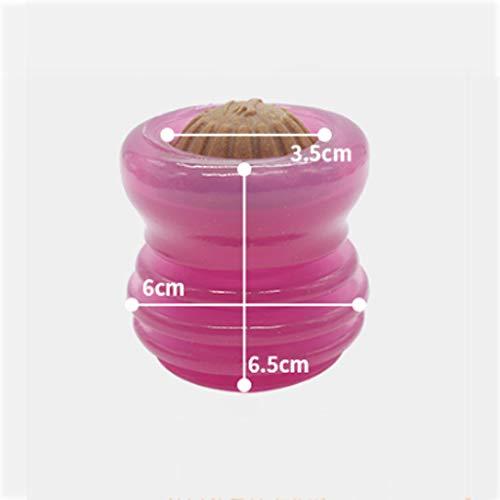 AA-Pet Food Ball Boulettes de Nourriture pour Animaux domestiques, Petits Chiens, Casse-tête résistant aux Jouets, Morsure manquante Aliments/Mauvaise Balle concave