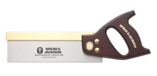 Spear & Jackson 5410Y Tenon Saw, Brown and Silver