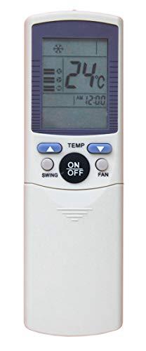 Telecomando per condizionatori climatizzatori Haier, climatizzatori, Pompa di Calore, Inverter YR-D01 - YL-D01 Compatibile con Serie D Haier