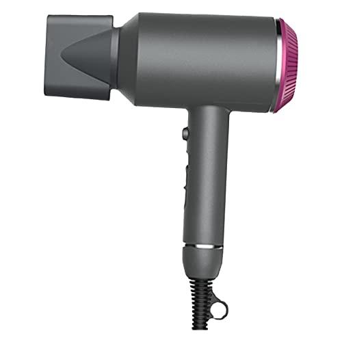 Secador de pelo, Estiloces para el hogar, Máquina de secado rápido de Ion de alta potencia 3 Las velocidades del viento no lastimarán el cabello