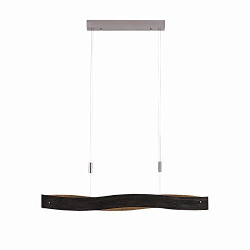 LED Lámpara colgante 'Ebu' (Moderno) en Negro hecho de Metal e.o. para Salón & Comedor (5 llamas, A+) de Lucande | lámpara colgante LED, lámpara colgante LED, lámpara LED, lámpara de techo, lámpara de