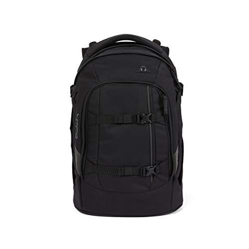 Satch Schlamperbox - Mäppchen groß, Trennfach, Geodreieck - Ninja Matrix - Black
