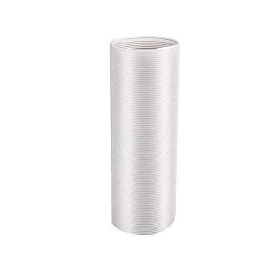 Linsition klimaanlage abluftschlauch 3m Abluftschlauch Adapter Flexibel PP Klimaanlage Schlauch Verlängerung Ø 130 mm für Klimaanlage Mobil Klimagerät