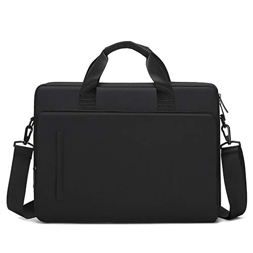 ZH Laptop Bag for Women 15.6 Inch Briefcase for Women Multi-Pocket Laptop Tote Work Bags with Professional Padded Compartments, Black,black