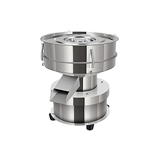 Automatischer Siebschüttler, 40Mesh + 60Mesh Vibrationssiebmaschine, Siebschüttelmaschine, 1350N / Min Pulver-Siebmaschine