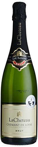 LaCheteau - AOP Crémant de Loire Brut - Schaumwein - Herkunft : Frankreich (1 x 0.75 l)