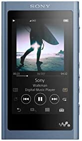 Sony NW A55 L Walkman NW A55 Hi Res 16GB MP3 Player Moonlight Blue Moonlit Blue product image