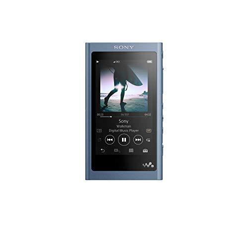 Sony NW-A55/L Walkman NW-A55 Hi-Res 16GB MP3 Player, Moonlight Blue, Moonlit Blue