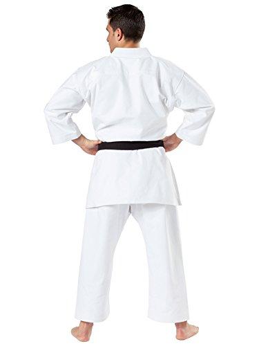 Kwon Karateanzug Kata in 12 Oz. Trad., ohne Logo Farbe: Weiss, Grösse: 180 cm