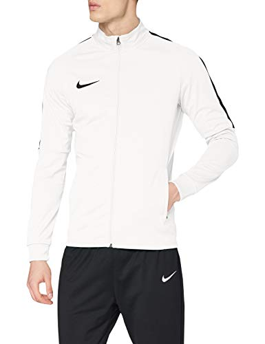 Nike Herren Men's Dry Academy18 Football Jacket Sport, White/Black, S