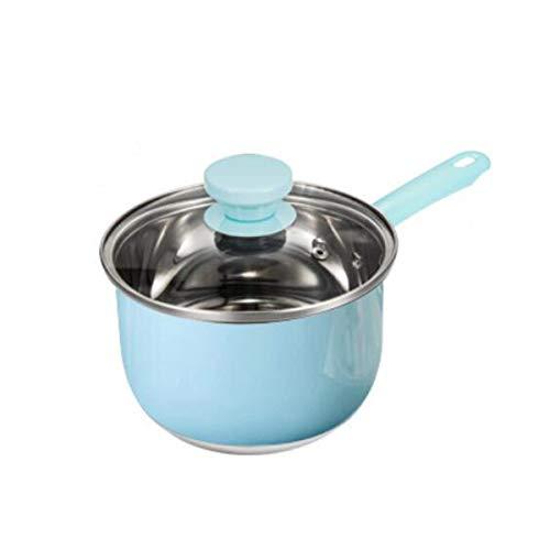Mini Mjölkkruka Färgglada Non-stick lagerpott Användbar bärbar soppkruka Matlagningsverktyg Praktisk bekväm minisås Pan Stockpot (rosa) (varm kruka)
