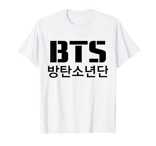 Official BTS Bangtan Boys Merchandise BTS19 Camiseta