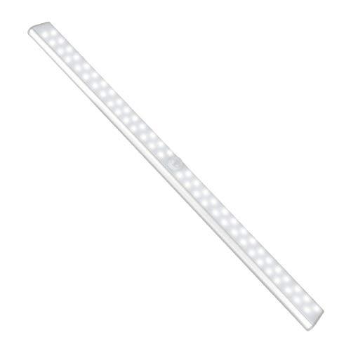 Camidy Aufklebbare Schrankleuchte Kabelloser Bewegungssensor Nachtlicht Dimmbarer Barschrank LED- Leuchten für Treppenflur Garage