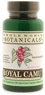 Whole World Botanicals - Royal Camu Veg Caps 60- 400 mg - Botanicals Herbs