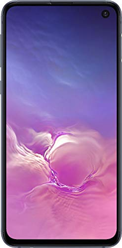 Samsung Galaxy S10e Verizon + GSM Unlocked 128GB Prism Black (Renewed)