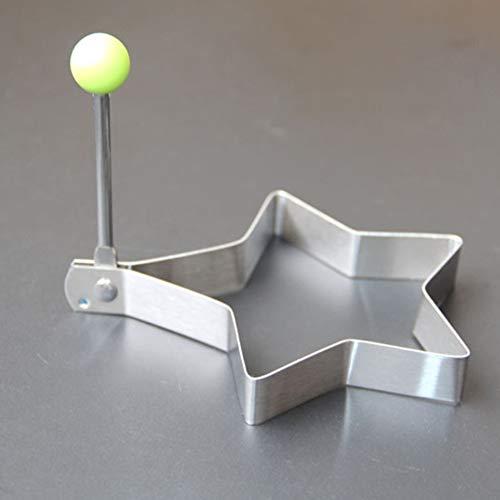 Bontand Edelstahl-spiegelei-Form-Shaper Crêpière Kochen Werkzeuge Küchenzubehör Zufällig