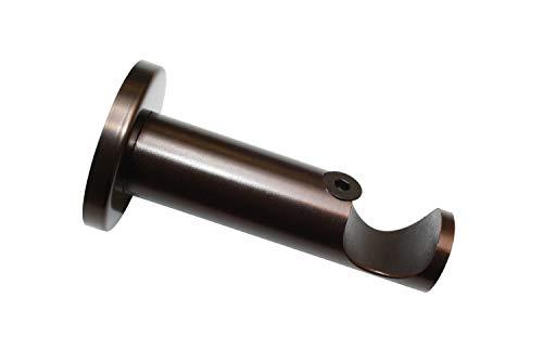 Gardinia Träger 1-Lauf offen für Ø 25 mm Bronze 8 cm, Einzelprogramm Windsor