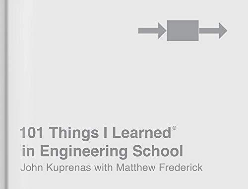 101 Things I Learned® in Engineering School