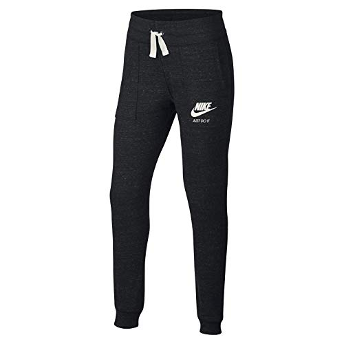 Nike Mädchen Sportswear Vintage Hose G Nsw Vntg, Schwarz (Black/Sail), S