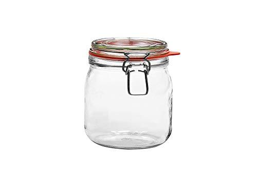 DOSEN-CENTRALE draadbeugelglas Bocal 634 ml 12-pack
