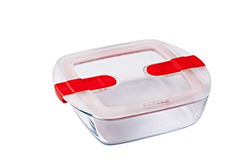 Pyrex Microwavable Glass Storage Container, Clear
