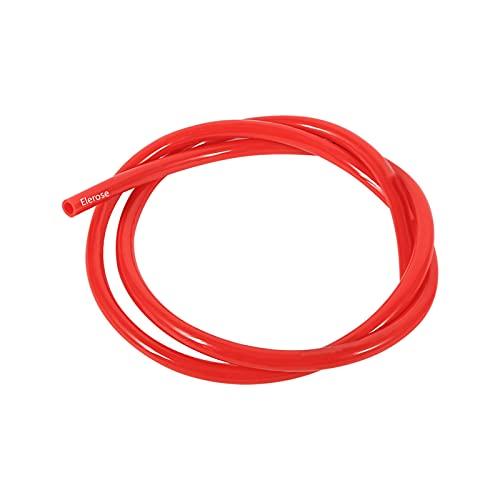 Elerose 1M moto benzina tubo carburante linea di benzina tubo idraulico accessori moto universale per la maggior parte dei motocicli(rosso)