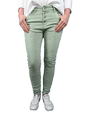 Karostar - Jeans elasticizzati, con taglio Boyfriend, da donna Cachi L