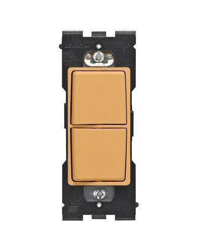 Leviton - Interruptor Renu unipolar, 15A-120/277VAC