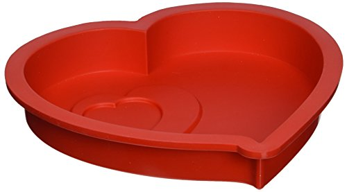 Pavoni moule silicone Coeur rouge FRT190