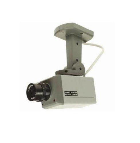 UNITEC 47051 Dummy-Kamera mit Bewegungsmelder und LED