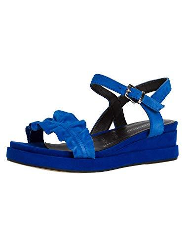 Tamaris 1-1-28205-24, Sandali con Cinturino alla Caviglia Donna, Blu Reale, 36 EU
