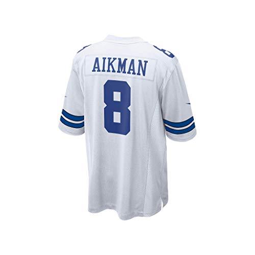 Nike NFL Dallas Cowboys Game Jersey, Herren, Spiel, Weiß, 3X-Large