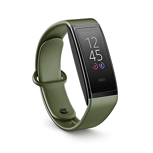 Introducing Halo View fitness tracker, with color display for at-a-glance access to heart rate,...