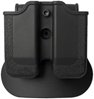 P225 Fobus doppio caricatore Fondina Double Mag pouch per Single-Stack 9mm Magazines Sig Sauer P938 Beretta Nano Walther PPS /& PPS M2 Ruger LC9