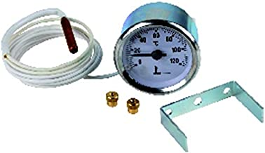 Expert by net - Termómetro redondo - 0° a +120°C diametro 56mm