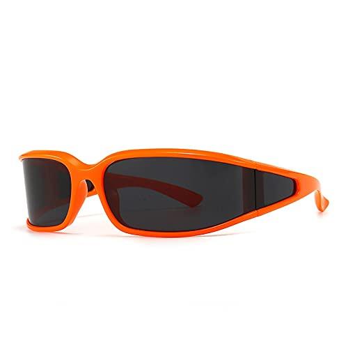 Gafas De Sol De Moda Unisex Gafas De Sol Retro Punk para Mujer, Gafas De Una Pieza, Gafas Steampunk, Gafas De Sol Vintage para Hombre, Gafas Retro SHO