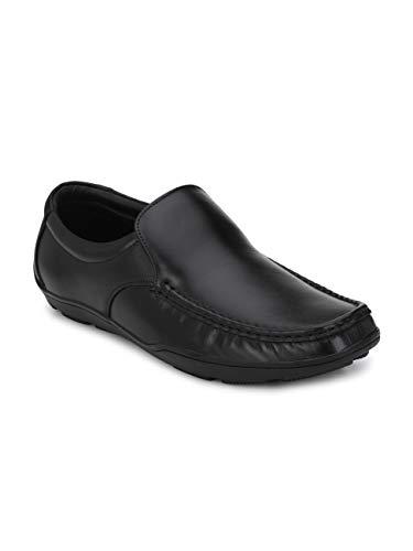 FENTACIA Men Genuine Leather Formal/Office Shoe Black