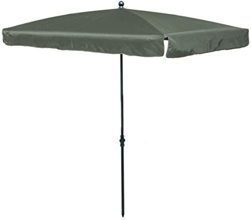 GCX Schatten Sonnenschirm 1,75 * 2,25 m Außen Folding Hof Shade Sonnenschirm rechteckig Regenschirm Regenschirm Canopy Gewerbe Regenschirm tragbar