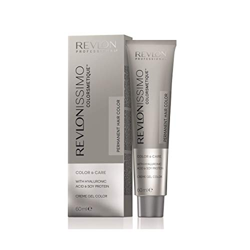 Revlon Professional Revlonissimo Colorsmetique Color&Care Permanent Hair Color 5.35, Hellbraun Bernstein, 1er Pack(1 x 60 milliliters)