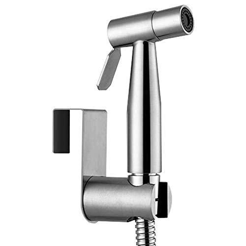 GUONING-L Hand El pulverizador de Mano Bidé Inodoro de Acero Inoxidable - Acero Inoxidable 304 Lavadora Pistola de pulverización Accesorios Limpieza