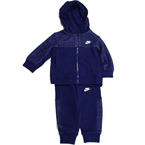Nike Nkb Av 15 Fz And Jogger Set - blue void