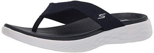 Skechers Damen 140037-NVY_40 Flip-Flops, Navy, EU