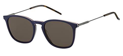 Tommy Hilfiger Gafas de Sol TH 1764/S Blue/Brown 51/20/145 hombre