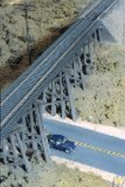 Walthers Cornerstone Series Kit HO Scale Trestle w Steel Deck Girder Bridge by Walthers, Inc.