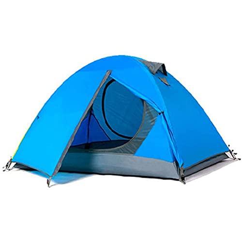 Carpas para Acampar Tienda De Campaña para 2 Personas Carpas Portátiles De Doble Capa Resistente Al Viento Y A La Lluvia Fácil De Instalar para Acampar Al Aire Libre, Senderismo