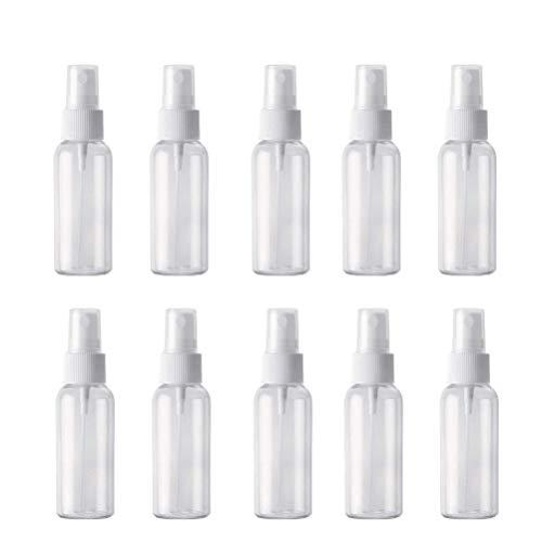 10個セット スプレーボトル 詰替ボトル 次亜塩素酸水対応 透明...