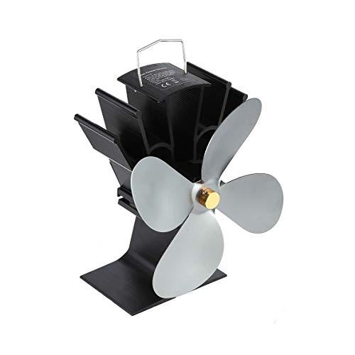 Heaviesk Ventilador Chimenea de Potencia térmica Ventilador