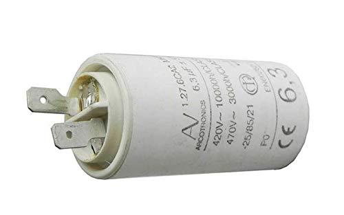 CONDENSATEUR 6.3 MF 470V 1.27.6CA2 MKP POUR HOTTE SAUTER - 72X8290